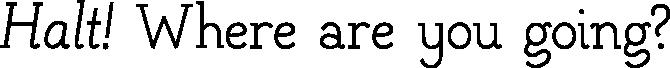 Quirke Regular and Italic Demo