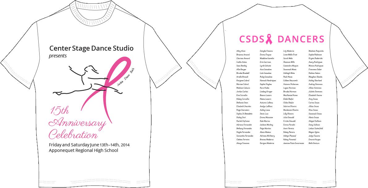CSDS 14th Annual Recital T-Shirt